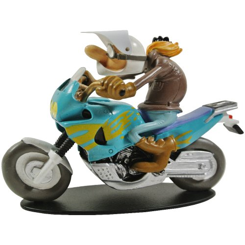 Promobo - Statuetta da collezione BD Joe Bar Team Racing Honda Twin 750 Barry Bagar N°37