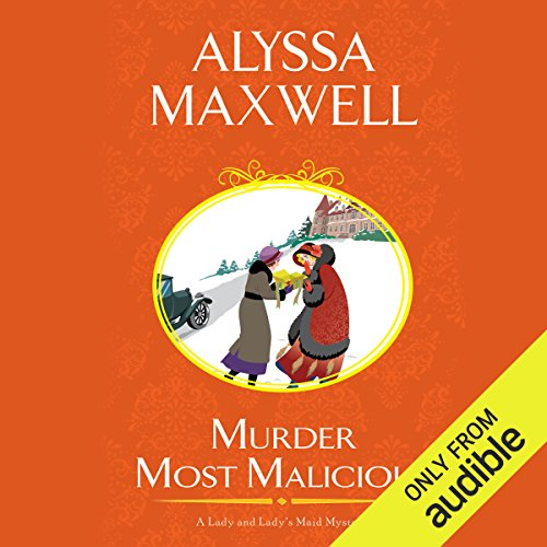 Murder Most Malicious audiobook cover art