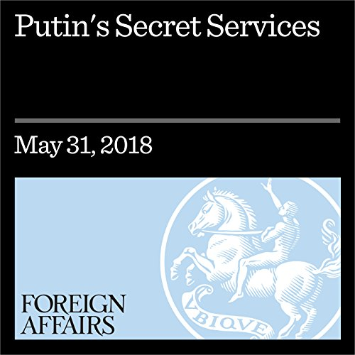 Putin's Secret Services audiobook cover art
