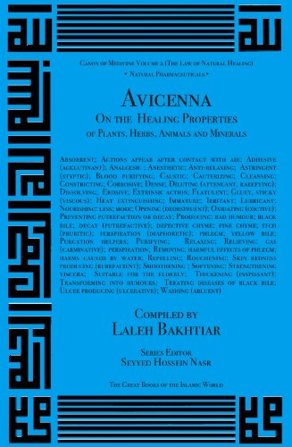 Avicenna On the Healing Properties of Minerals, Plants, Herbs and Animals from the Canon of Medicine Volume 2 (Canon of Medicine (The Law of Natural Healing))