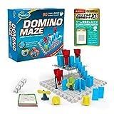 シンクファン (ThinkFun) ドミノ・メイズ(オリジナル問題カード付) (Domino Maze) [日本総代理店] 迷路ゲーム