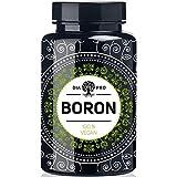 DiaPro® Boron Hochdosierte Boron-Tabletten mit 3 mg Bor pro Tablette aus Natriumborat 365 Stück Jahresvorrat 100% Vegan Laborgeprüft Hergestellt in Deutschland