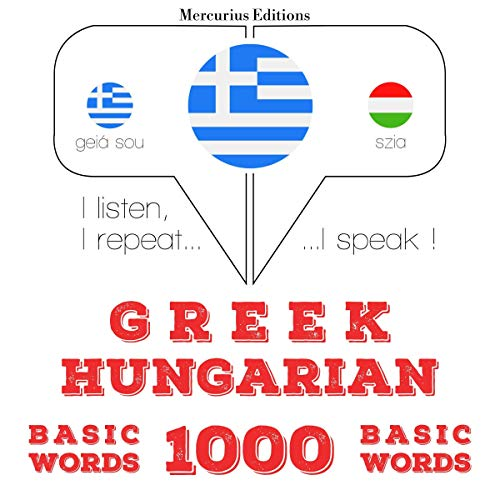 Couverture de Greek - Hungarian. 1000 basic words