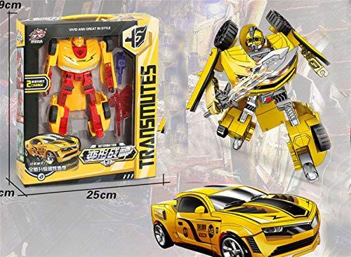 N\A ZIYU Actiefiguur Saixing Commander Optimus Prime-18cm ( Color : Yellow )