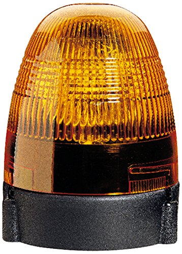 HELLA 2RL 007 337-011 Rundumkennleuchte - KL Rotafix - Halogen - H1 - 24V - Lichtscheibenfarbe: gelb - Anbau