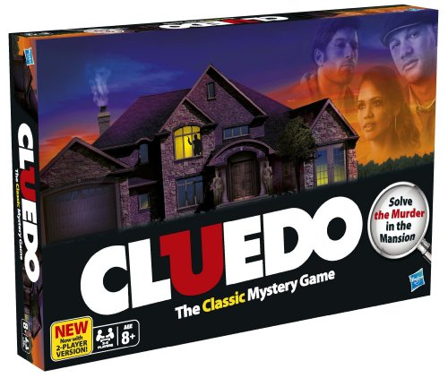 Hasbro [UK-Import] Cluedo The Classic Mystery Game
