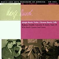 Adolph Busch, Busch Quartet, at the 1949 Strasburg Festival: Brahms & Mendelssohn (2001-05-22)
