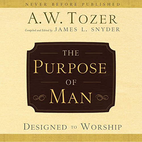 The Purpose of Man audiobook cover art