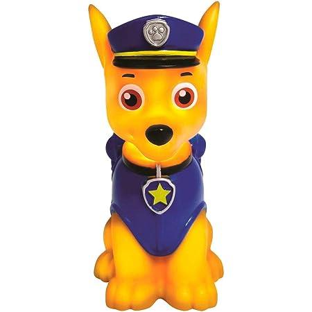 Lexibook Paw Patrol La Pat'Patrouille Chase Veilleuse de Poche LED pour chambre d'enfants, changement de couleurs, lumière douce, A piles, Bleu/Beige, NLJ001PA1