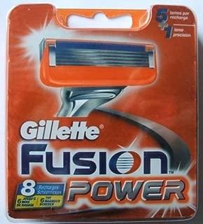 Gillette Fusion Power Rasierklingen 8 Stück