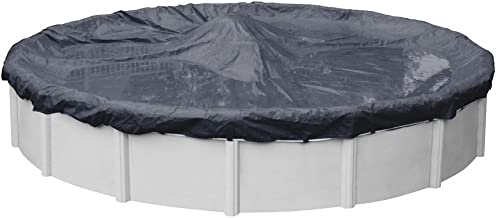 Robelle 3615 Economy Winter Pool Cover for Round Above Ground Swimming Pools, 15-ft. Round Pool