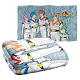Trevco Voltron Team Silky Touch Super Soft Throw Blanket 36' x 58'
