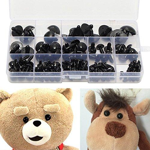 154 - tlg 6 - 24mm Teddyaugen Sicherheitsaugen Kunststoffaugen Puppe Augen Handwerk