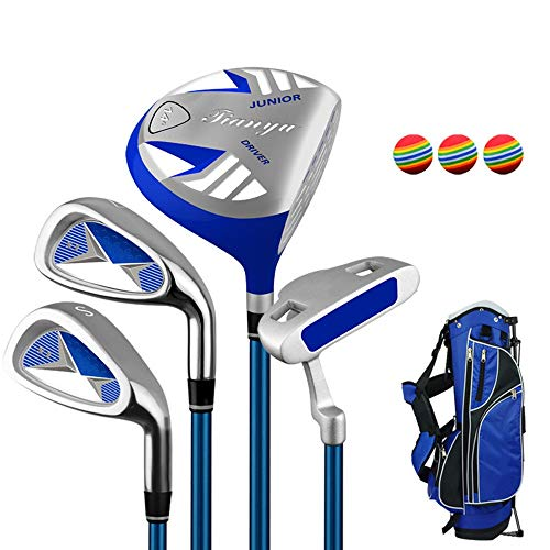 Great Price! YAOSHIBIAN- Kids Golf Beginner Golf Club Set Golf Putter Practice Club Set for 3-12 Yea...