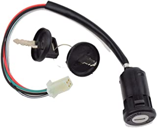 4 Wires Ignition Switch Key with Cap for 50cc 70cc 90cc...