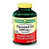 Best Flaxseed Oils - Spring Valley Cold-pressed Flaxseed Oil, 1,000 mg, 200 Review