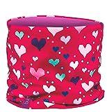 BULA Kids Double Neck Tube, Heart Pink, One Size