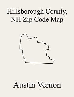 Hillsborough County, New Hampshire Zip Code Map: Includes Antrim, Greenville, Lyndeborough, New Ipswich, Manchester, Pelham, Temple, Amherst, Bedford, ... Brookline, Deering, Francestown, Goff