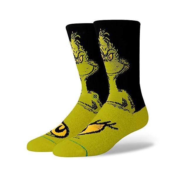 STANCE Men's The Grinch Socks