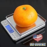 Best Escali Bathroom Scales Weight Watchers - HIGHMIGOU 3000g/0.1g Portable Mini Electronic Digital Food Scale Review