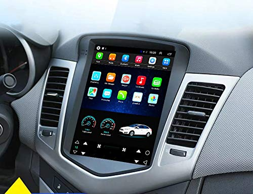 LUOWAN Android 10 Radio for Chevrolet Chevy Cruze 2009-2015 10.4inch Tesla Style Car in-Dash GPS Navigation IPS Touch Screen 2+32GB Bluetooth WiFi Build-in Maps