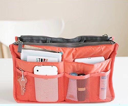 Doyeemei Organizador de bolso de mano para mujer, organizador de viaje, organizador...