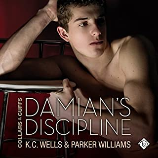 Damian's Discipline audiobook cover art