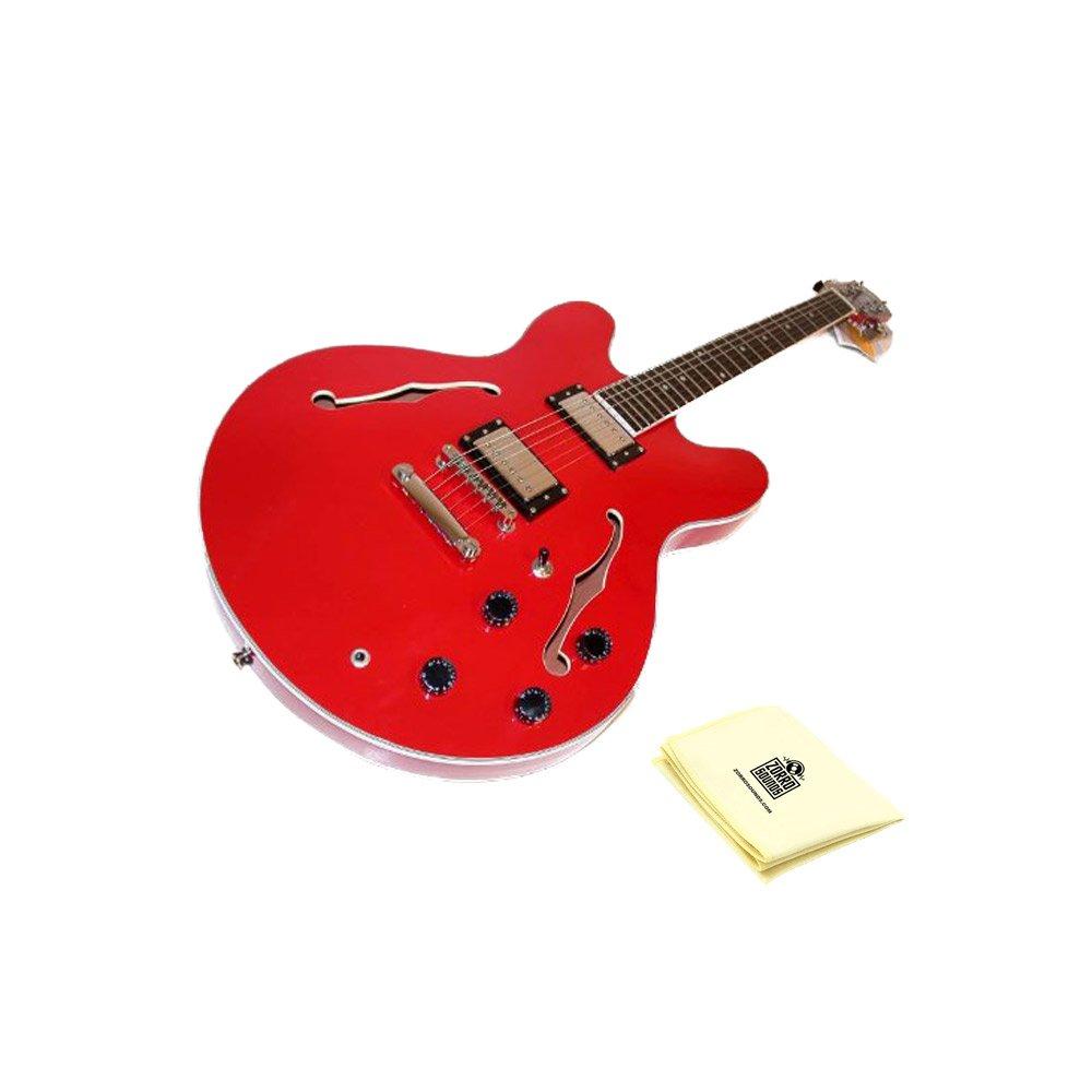 Cheap Oscar Schmidt OE30CH Electric Guitar Bundle with Polishing Cloth - Cherry Black Friday & Cyber Monday 2019