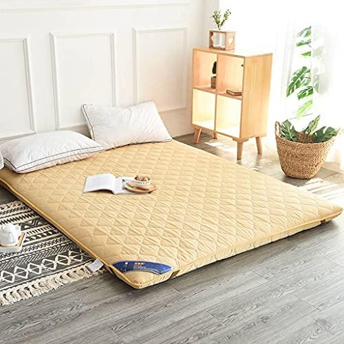 SINKITA Japanese Floor Mattress,Tatami Mat Sleeping Pad Japanese Bed Mattress Topper Futon Mattress Thicken Guest Bed Portable Roll Up Hard-C-120x200cm(47x79inch)