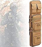 LSWKG Funda para Armas Largas,Bolsa Táctica Funda para Arma Funda para Transporte de Armas, Mochila para Carabina, Almacenar o Transportar Rifles Individuales, 600D Oxford Impermeable