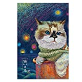 Haluoo 234 Pieces Puzzles for Adult Kids Cat Jigsaw Puzzles Animal Puzzles for Beginners Children Learning Education Game Develop Intelligence Toy Wall Decorative Pictures for Bedroom Living Room