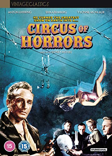 Circus of Horrors [DVD] [2020]