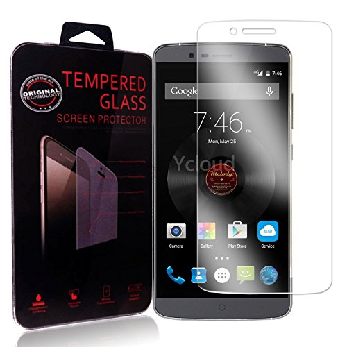 Ycloud Panzerglas Folie Schutzfolie Bildschirmschutzfolie für Elephone P8000 Screen Protector mit Festigkeitgrad 9H, 0,26mm Ultra-Dünn, Abger&ete Kanten
