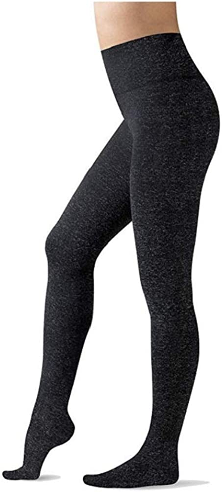 Warner's Women's Ultra Soft Fleece Footed Tights, Dark Grey Heather, Size 2X/3X