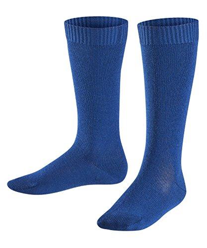 FALKE Kinder Socken Comfort Wool - Merinowoll-/Baumwollmischung, 1 Paar, Blau (Royal Blue 6051), 39-42