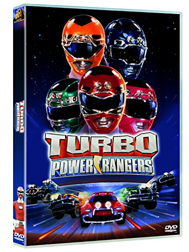 Turbo Power Rangers, La Pelicula DVD