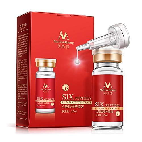 Produits de soins de la peau visage MeiYanQing, Argireline + Aloe Vera + Peptides de collagène Rajeunissement Sérum anti-âge anti-rides Yiitay