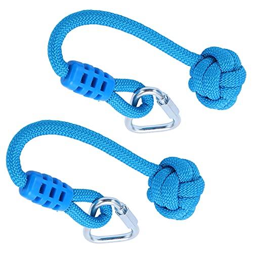SALALIS Cuerda De Nudo Oscilante, Cuerda De Nudo De Escalada, Confiable, Práctica, Resistente para Niños, Actividad De Escalada En Interiores Y Exteriores
