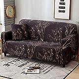 PPOS Elastische Stretch Schonbezüge Sofa Sectional Sofa Cover für Wohnzimmer Couch Cover Single C13 4 Sitze 235-300cm-1pc