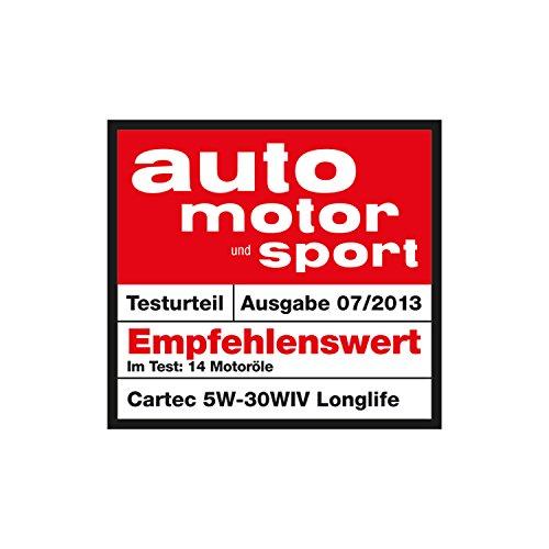 Cartec Motorenöl High-Tech SAE 5W30 Longlife III 5L - Made in Germany