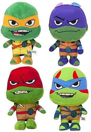 4X 30cm Super Soft Plüsch Schildkröten Comicserie Teenage Mutant Ninja Turtles Turtler Spielzeug Figur Hero