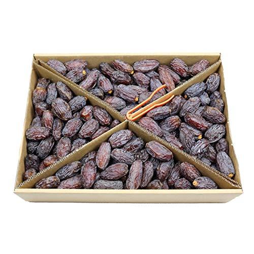 Copaya Medjool Datteln 5kg, PREMIUM Large, Softe Datteln, Naturbelassen & Ohne Schwefel 5000g Box