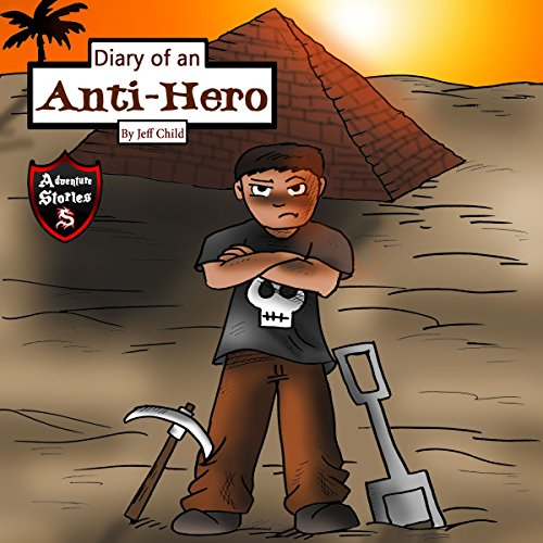 Diary of an Anti-Hero audiobook cover art