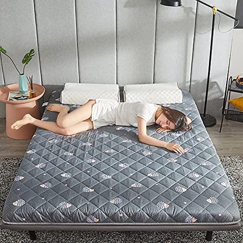 ZHANGLE Colchón de Piso Colchón de futón, tapete de Tatami Plegable de...