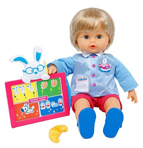 Giochi Preziosi Cicciobello Scuola - Bambola Interattiva con Tablet