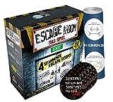 Collectix Escape Room Il gioco (gioco di base), gioco di società a partire dai 16 anni + 5 adesivi Exit + 1 poster ottico di ingannamento