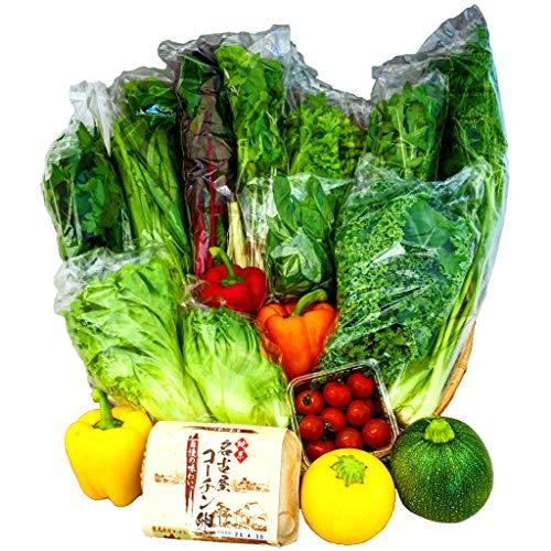 産地直送新鮮野菜と名古屋コーチンたまごの詰め合わせセット 5000