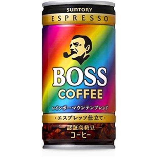 ボス レインボーマウンテンブレンド 185g×30本 缶