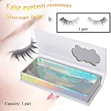 Ktyssp Empty False Eyelash Care Storage Case Box Container Holder Compartment Tool