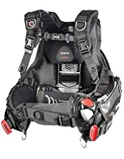 Mares BCD Hybrid AT - Chaleco Unisex, Color Negro